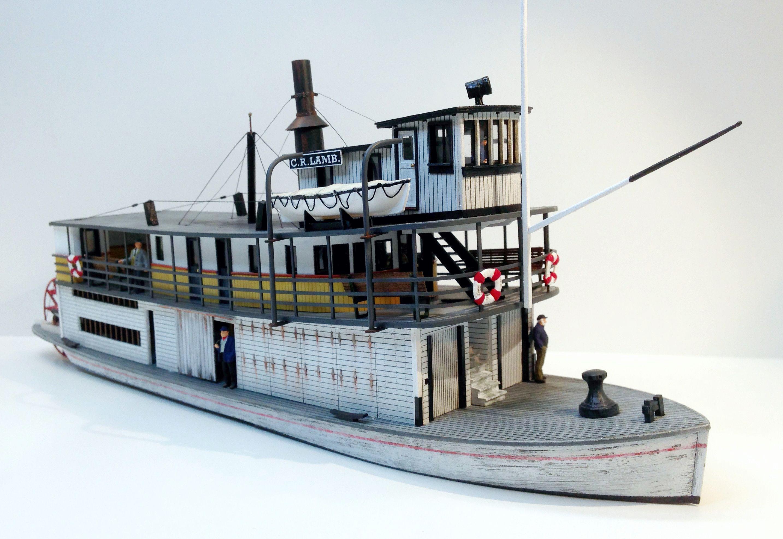 Ho 7302 C R Lamb Sternwheeler Ship