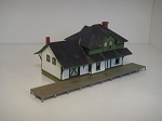 N Scale: Fort Langley Station