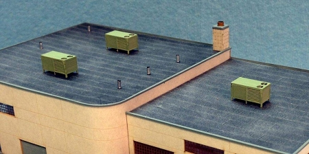 Perfect N Scale: Roof Top Air Conditioner (4 Units)