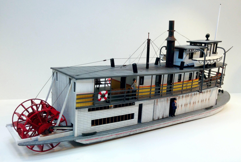 C R Lamb Sternwheeler Ship Kit