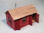 HO Scale Kit: Standard No.3 Single Tool House