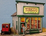 HO Scale Kit: Stu's Tobacco Shop
