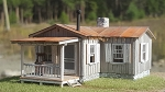 HO Scale Kit: Moonshiner's Cabin