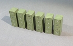 HO Scale: Filing Cabinets (6 Units)