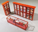 HO Scale: Tobacco Shop Interior Detailing Kit