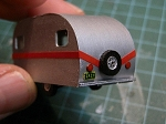 HO-7001: 17 Foot Vintage Travel Trailer