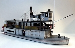 HO Scale Kit: C.R. LAMB Sternwheeler Ship