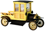 HO Scale Kit: 1911 Ford Model T Closed Cab Truck