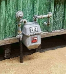 HO Scale: Gas Meters (3 Meters)
