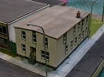 N Scale: Boyle Street Apartments