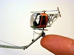 N Scale Kit: Jaycopter Helicopter Pilot Training System