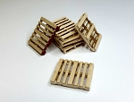 O Scale: Wood Pallets (12 Pallets)