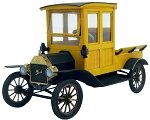 O Scale: 1911 Ford Model T Closed Cab Truck