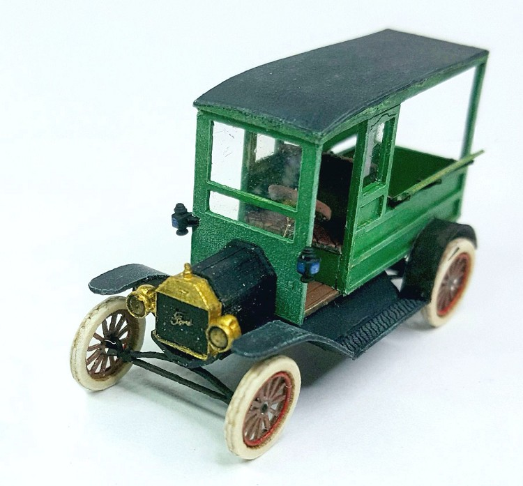 HO Scale: 1911 Ford Model T Depot Hack