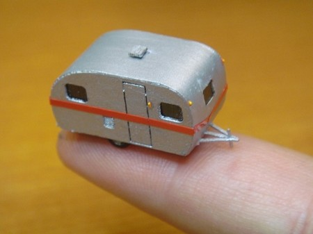 TT-7001: 17 Foot Vintage Travel Trailer