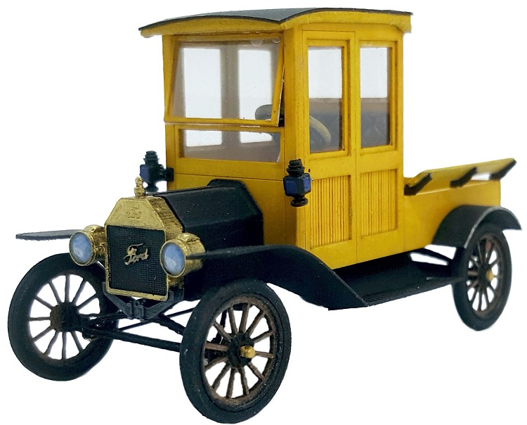 1911 Ford Model T Closed Cab Truck