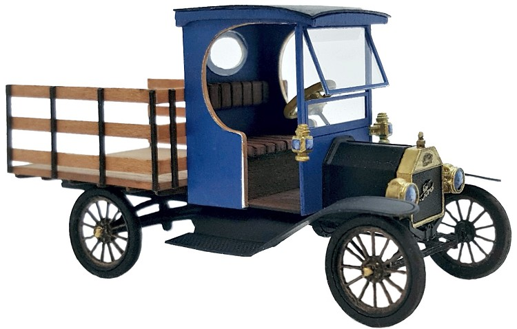 O Scale: 1912 Ford Model T Flat Bed Truck